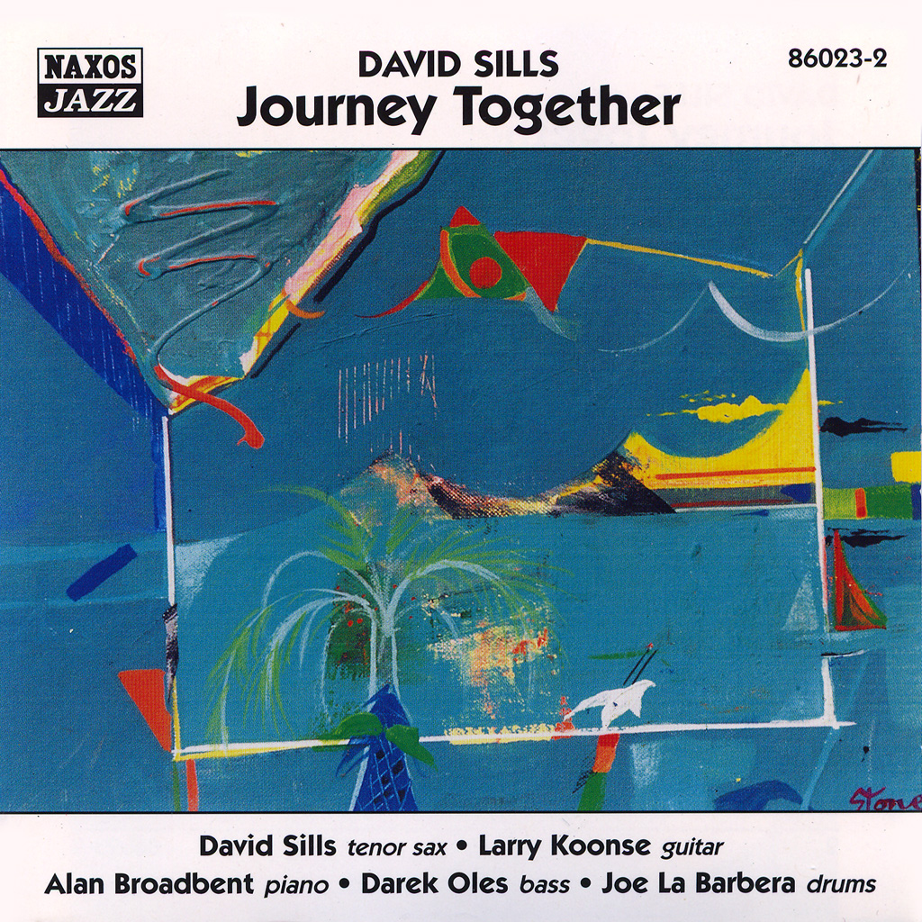 photo of CD cover of David Sills CD entitled Journey Together